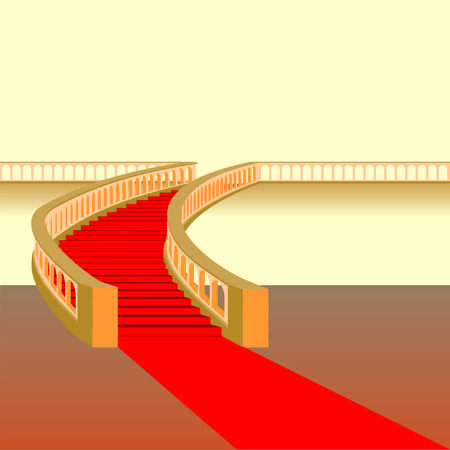 staircase Illustration