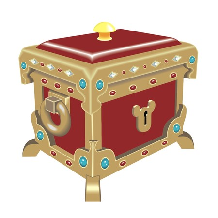strong box: dower chest