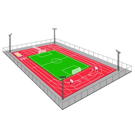 sports complex: sports complex
