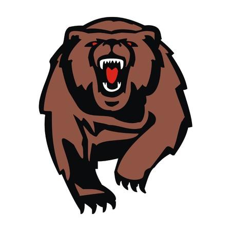 gripping: bear Illustration