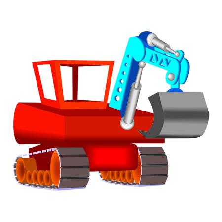 excavation: excavation machine