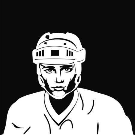 posit: hockey player