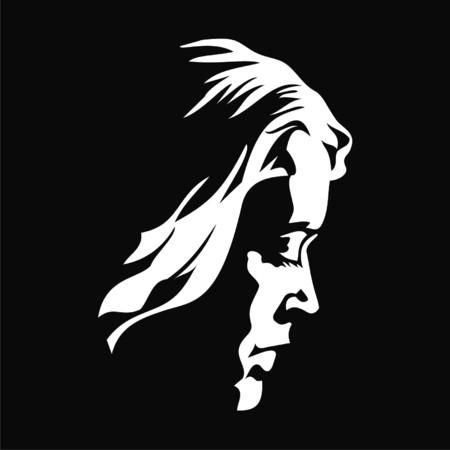 girl: silhouette girl