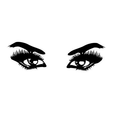 brow: eye Illustration