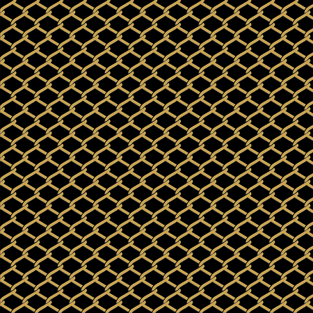 linkage: Wire fence vector background
