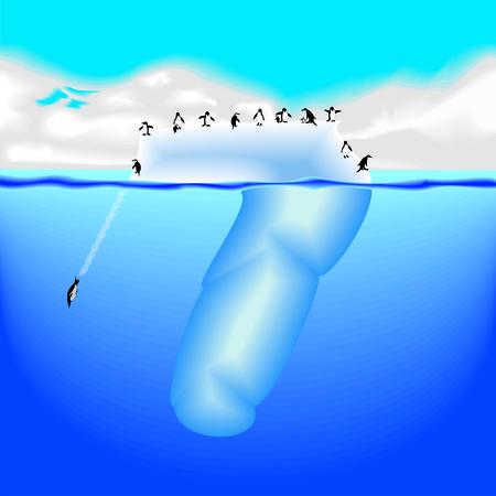 iceberg with penguins figure 7