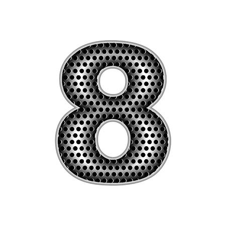 metal letters: metal letters 8