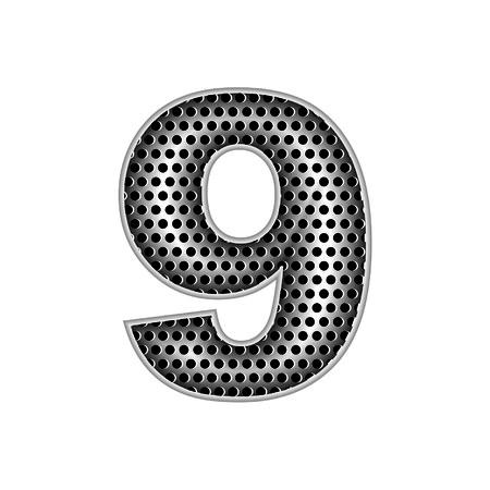 metal letters: metal letters 9