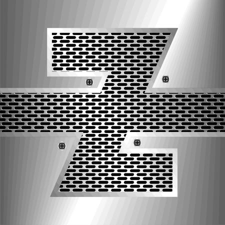nickel: letter z