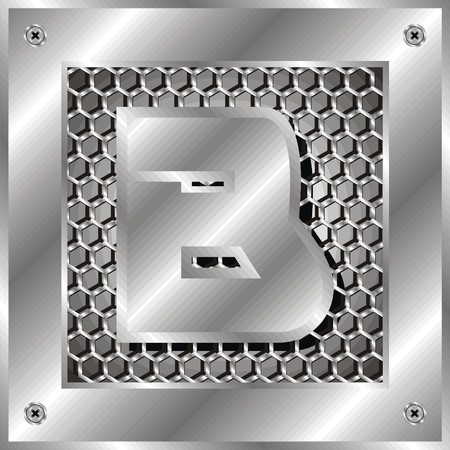 letter b Illustration