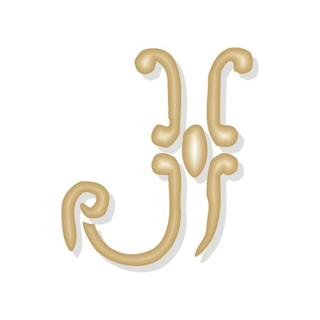 codex: letter j Illustration