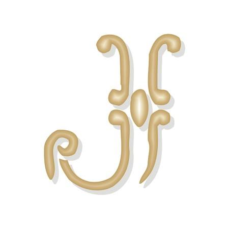 letter j Illustration