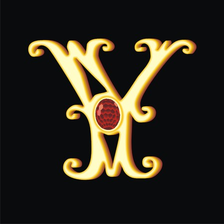 letter y Illustration