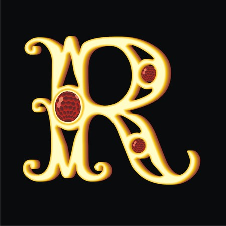 letter r Illustration