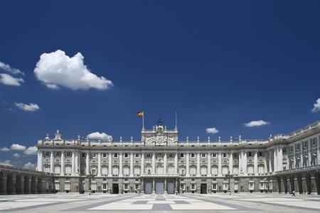 Palacio Real - Spanish Royal palace in Madrid  Stock Photo - 12943993