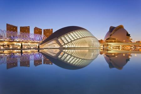 Ciudad de las Artes de Valencia y el Museo de la ciencia (Ciudad de las Artes y de las Ciencias)