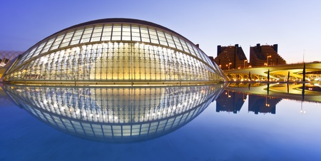 Valencias City of Arts and Science Museum (Ciudad de las Artes y de las Ciencias)