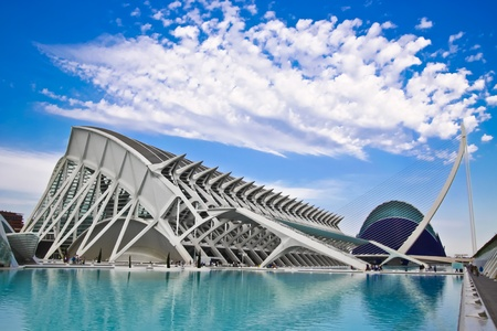 Valencia's City of Arts and Science Museum (Ciudad de las Artes y de las Ciencias) Stock Photo - 9253691