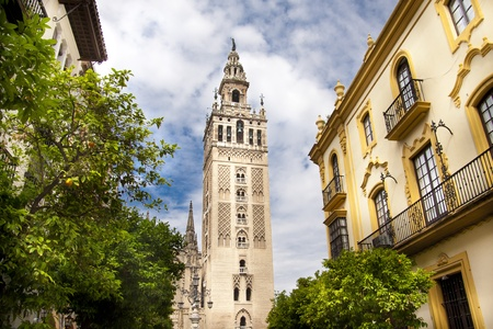seville: Cathedral of Seville, Spain, and the tower La giralda