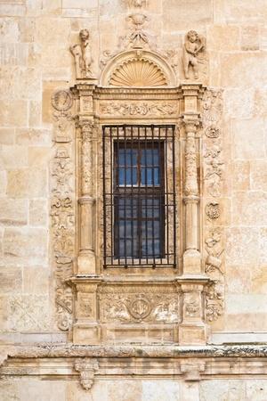 Vintage window in medievel monastery in Spain. Stock Photo - 9711250