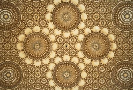 marmol: Detalle del mosaico Oriental - Mezquita de Hassan II - Casablanca - Lo mejor de Marruecos