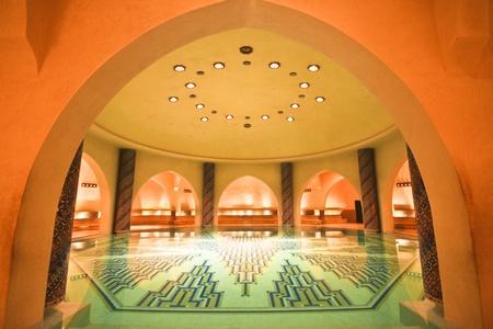 hamam: Luxury hamam in the Hassan II mosque in Casablanca, Morocco