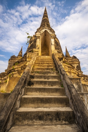 Old Siam Temple of Ayutthaya, Thailand  UNESCO word heritage