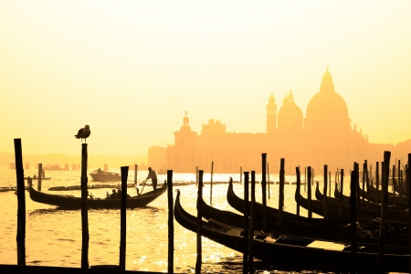 Romantic Italian city of Venice (Venezia) photo