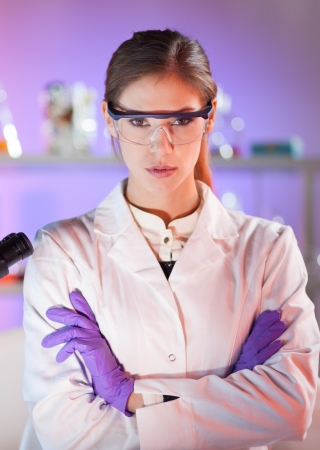 Portrait of a confident female health care professional in her working environment. Stock Photo - 16854974