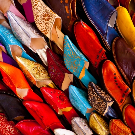 craft product: Handcrafts shot at the market in Marocco
