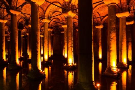 The Basilica Cistern , Turkey.