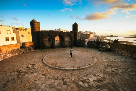 atlantic city: Essaouira is a city in the western Moroccan economic region of Marrakech-Tensift-Al Haouz, on the Atlantic coast. Since the 16th century, the city has also been known by its Portuguese name of Mogador or Mogadore. Morocco, north Africa.