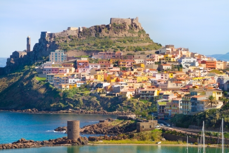 Castelsardo is a touristic town and comune in Sardinia, Italy, located in the northwest of the island within the Province of Sassari, at the east end of the Gulf of Asinara.