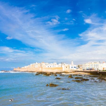 Essaouira es una ciudad en la región económica de Marruecos occidental de Marrakech Tensift Al Haouz, en la costa atlántica. También se ha conocido por su nombre en portugués de Mogador. Marruecos, norte de África.