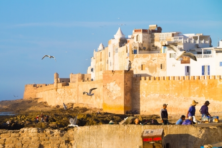 atlantic city: Essaouira is a city in the western Moroccan economic region of Marrakech Tensift Al Haouz, on the Atlantic coast. It has also been known by its Portuguese name of Mogador. Morocco, north Africa.
