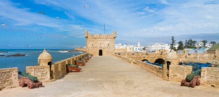 Essaouira is a city in the western Moroccan economic region of Marrakech Tensift Al Haouz, on the Atlantic coast. It has also been known by its Portuguese name of Mogador. Morocco, north Africa.