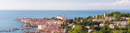 adriatic: Picturesque old town Piran - Slovenian adriatic coast.