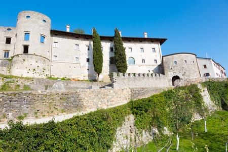 slovenian: Traditional village on slovenian Karst. Stanjel, Slovenia, Europe.