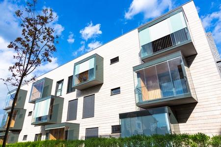condominium complex: Contemporary eco friendly residential architecture in Ljubljana, Slovenia, Europe