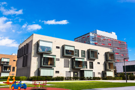 Contemporary eco friendly residential architecture in Ljubljana, Slovenia, Europe