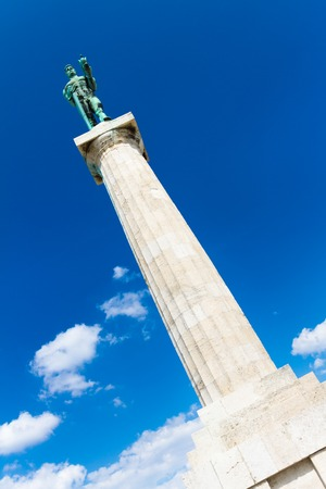 winning location: Statue of the Victor or Statue of Victory is a monument in the Kalemegdan fortress in Belgrade, erected on 1928 to commemorate the Kingdom of Serbias war victories over the Ottoman Empire and Austria-Hungary. It is most famous works of Ivan Mestrovic.