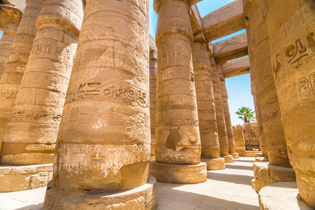 Ancient Egyptian Temple of Karnak (ancient Thebes). Luxor, Egypt. photo