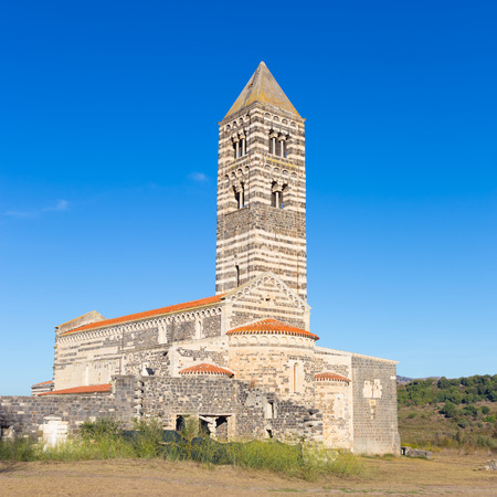 trinita: Santa Trinita di Saccargia, beautiful Romanesque church in northern Sardinia Sassari Province. Itay.