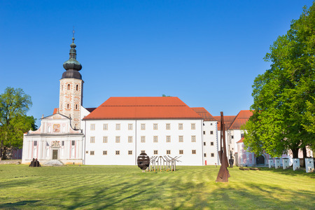 appointed: The Cistercian monastery Kostanjevica na Krki, homely appointed as Castle Kostanjevica, Slovenia, Europe.