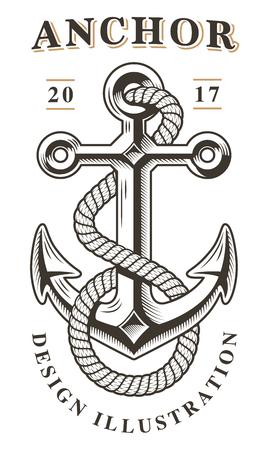 Anchor vector illustrartion.