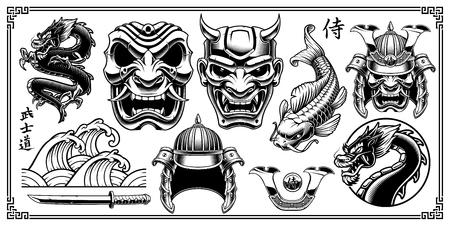 Samurai design elements
