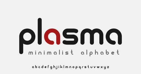 A minimalistic rounded alphabet, this font is perfect in such themes as artificial intelligence, gene editing, cloud computing and etc