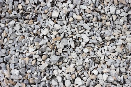 textura de piedra triturada gran primer plano de piedra triturada. Textura de piedra