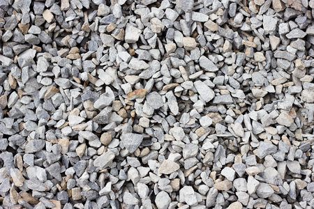 texture of crushed stone large crushed stone close-up. Stone texture