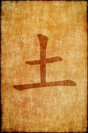 Chinees teken aarde
